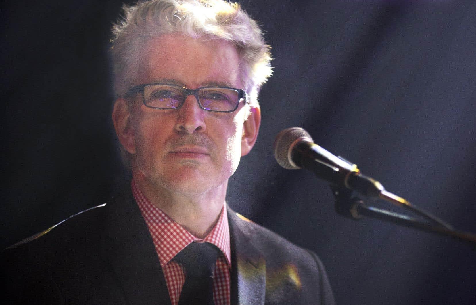Jean-MartinAussant a dirigé le Chantier de l'économie sociale de 2015 à 2018.