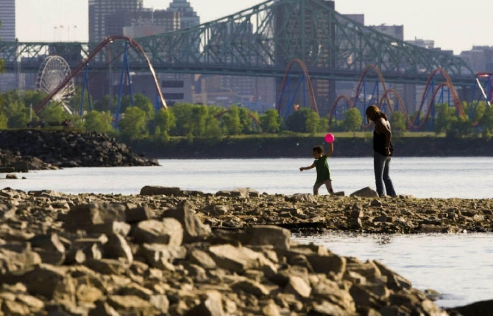 Le débit du fleuve est actuellement à son plus bas niveau depuis près d'un siècle.<br />