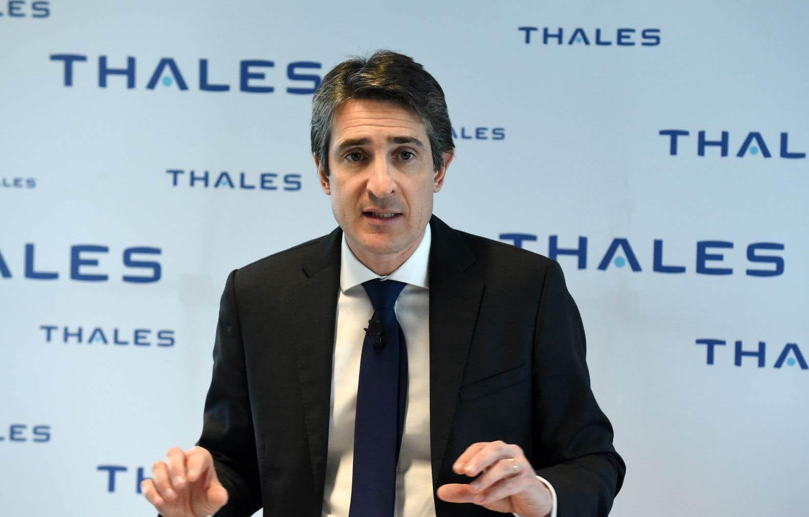 Le président-directeur général du groupe français Thales, Patrice Caine, a insisté sur l'importance d'adopter des lois et des règlements pour baliser le développement de l'intelligence artificielle.