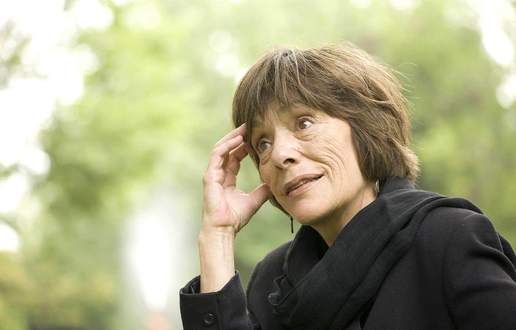 Suzanne Jacob publie son premier livre de fiction depuis «Un dé en bois de chêne» (2010).