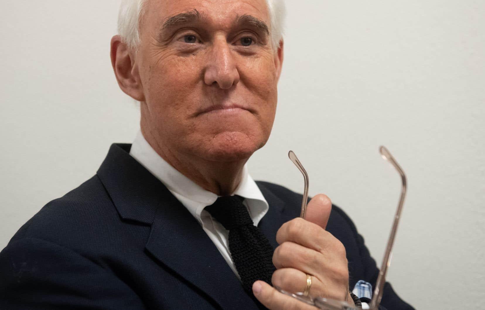 Roger Stone, allié et conseiller de longue date de Donald Trump