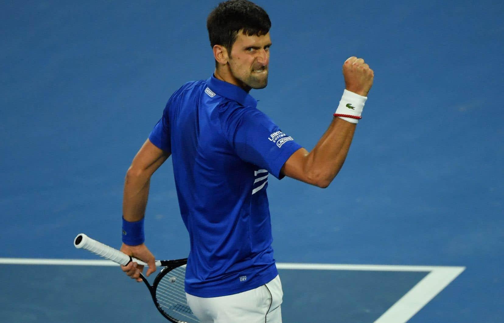 Djokovic a réglé le cas de Nadal en deux heures et six minutes, établissant un record avec un septième titre à Melbourne.