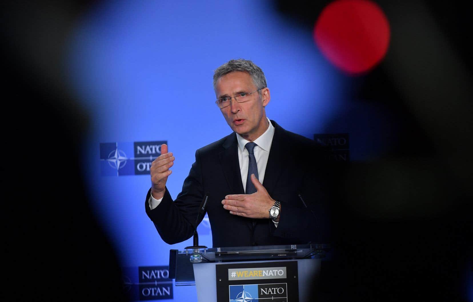 Le secrétaire général de l'Alliance atlantique, Jens Stoltenberg
