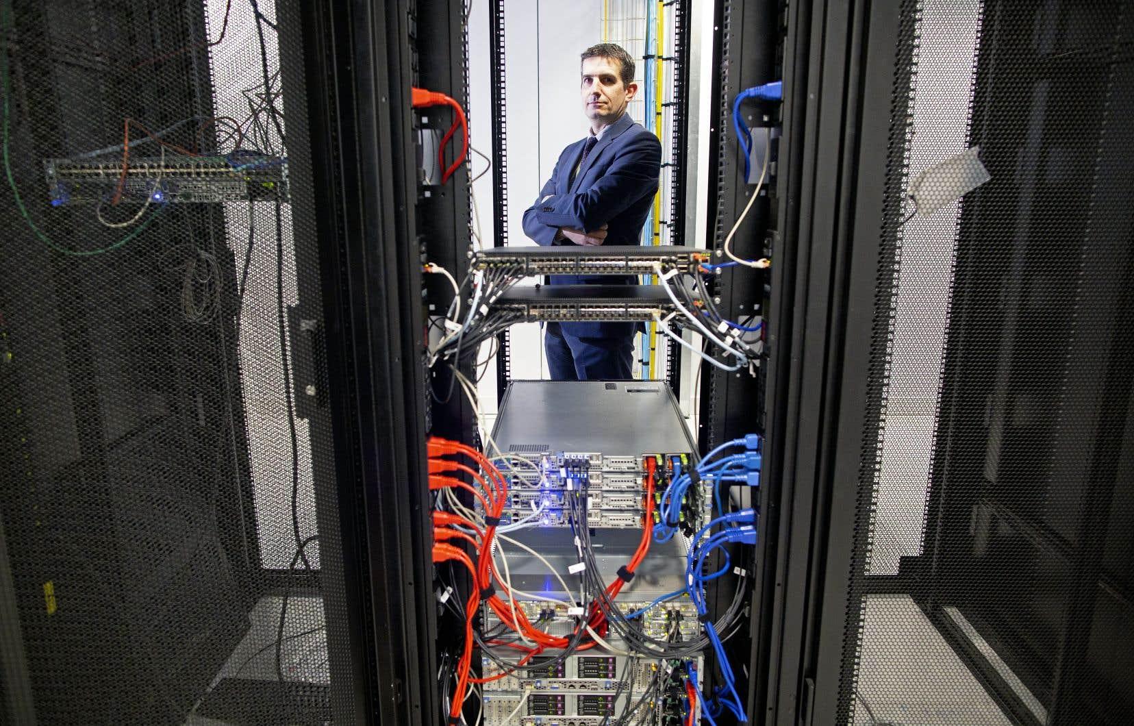 Brian Roe est le directeur commercial de Servecentric, un des 48 centres d'hébergement de données installés sur le sol irlandais.