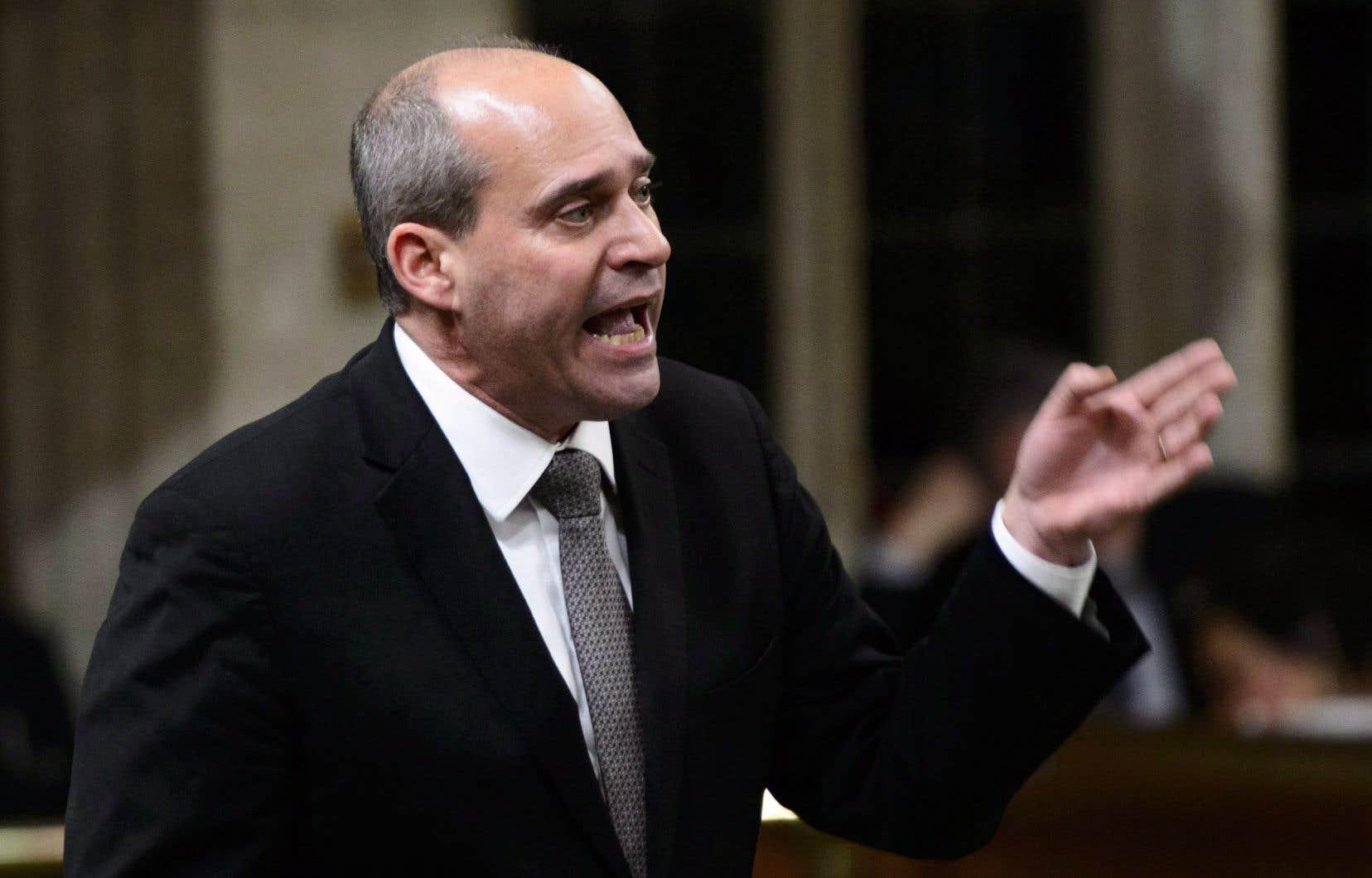 Le député néodémocrate Guy Caron