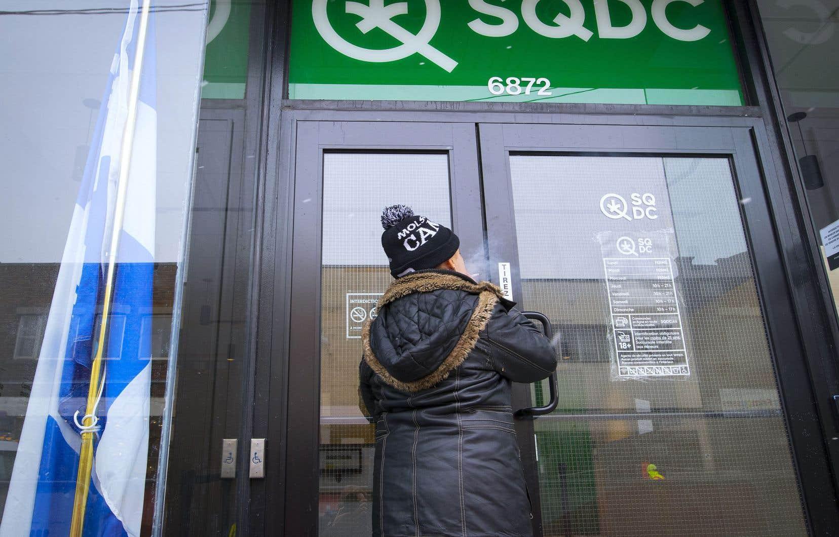 Vendredi dernier, la CSN avait échoué dans sa tentative de syndiquer l'ensemble des travailleurs de la SQDC.
