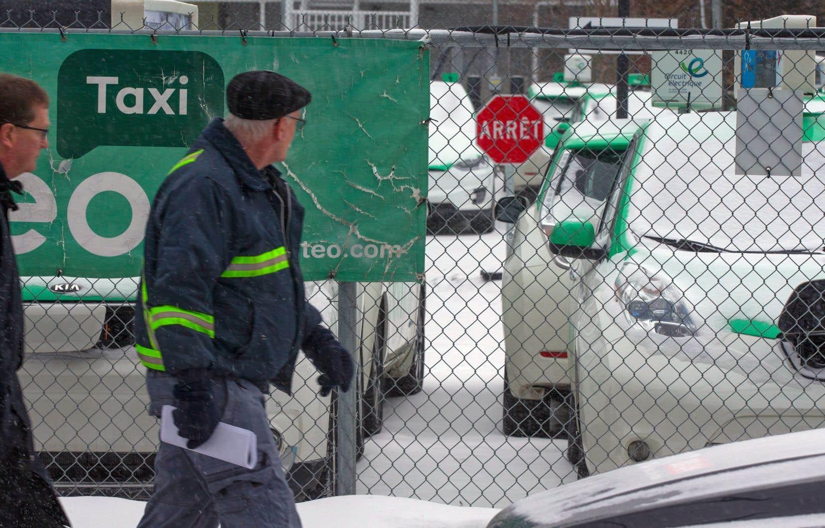 Les quelque 400 chauffeurs de Téo Taxi n'avaient été prévenus de rien.