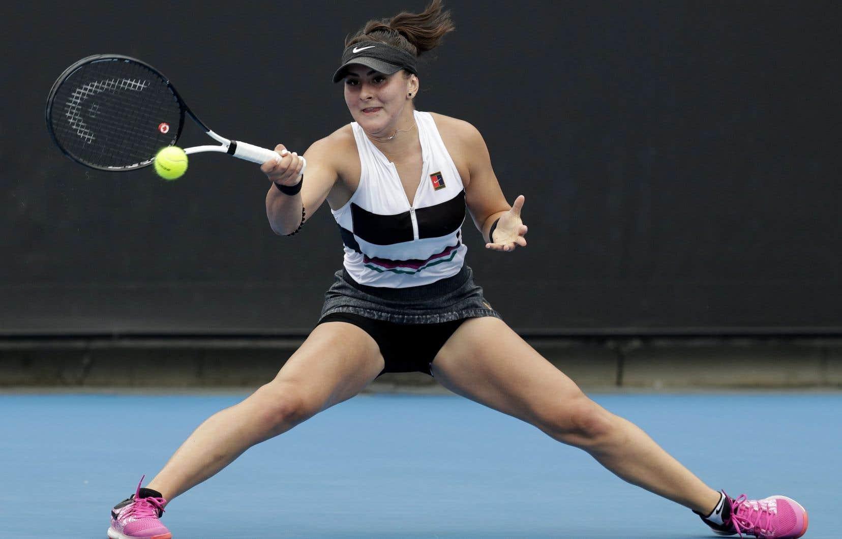 Bianca Andreescu a remporté un premier titre de la WTA le week-end dernier à Newport Beach.