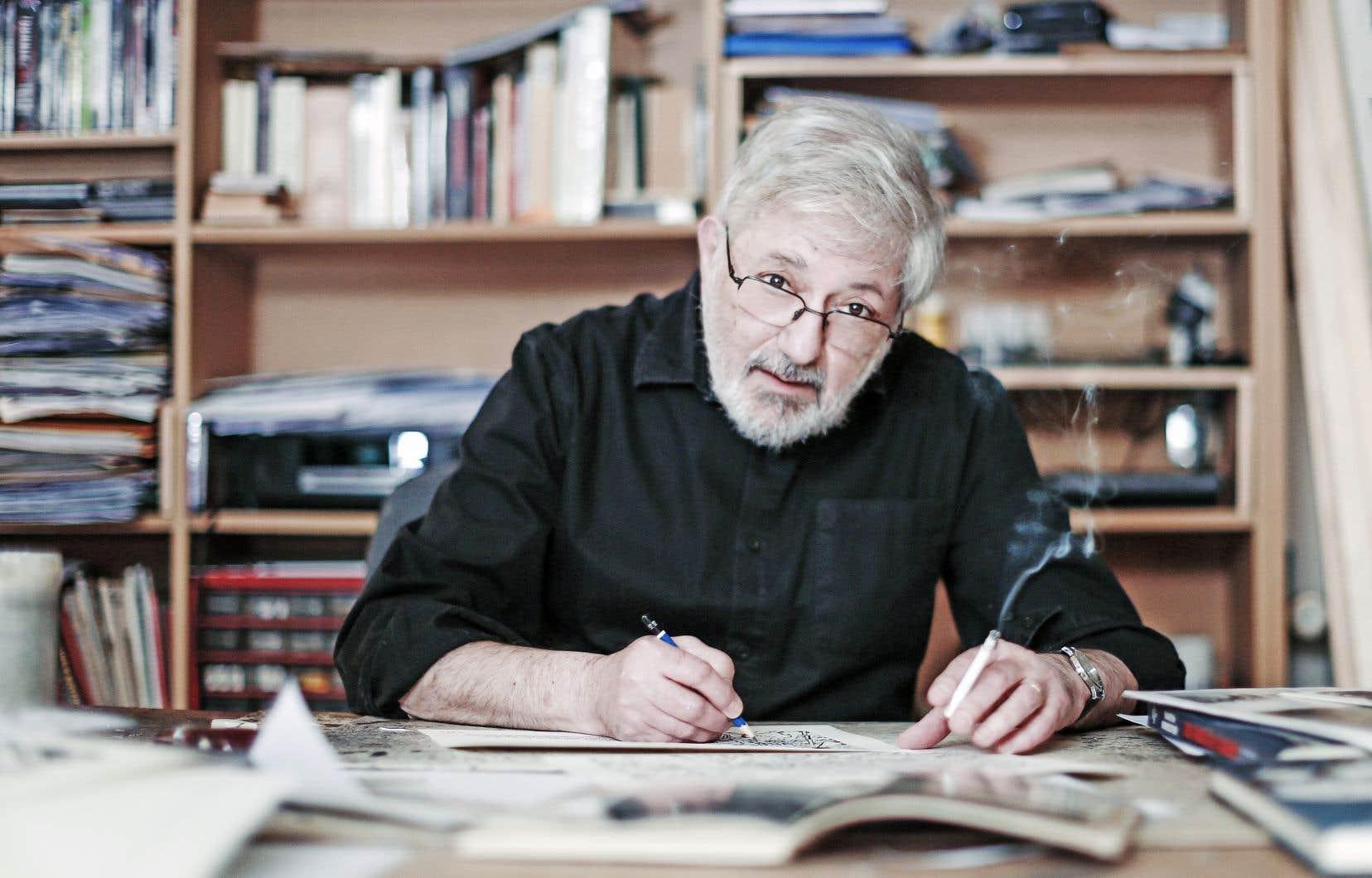 Jacques Tardi, artisan vétéran de la bédé, célébré notamment pour les aventures d'Adèle Blanc-Sec