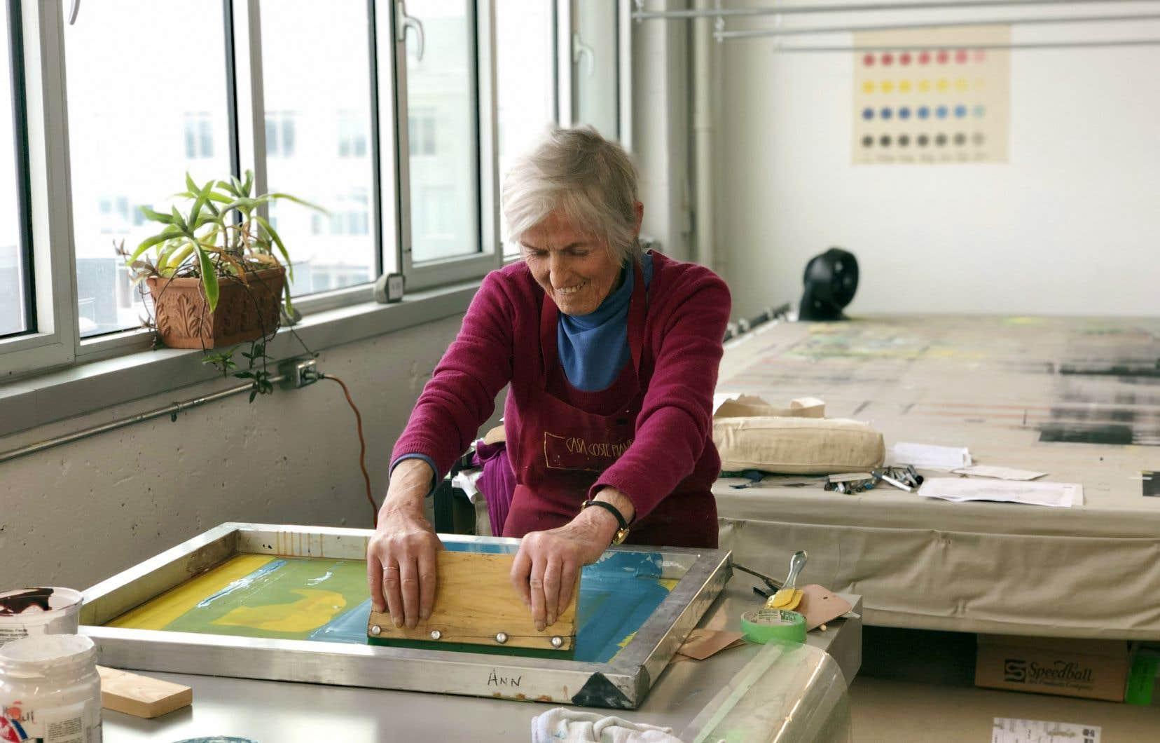 Ann McCall, artiste participante à l'événement Multiples