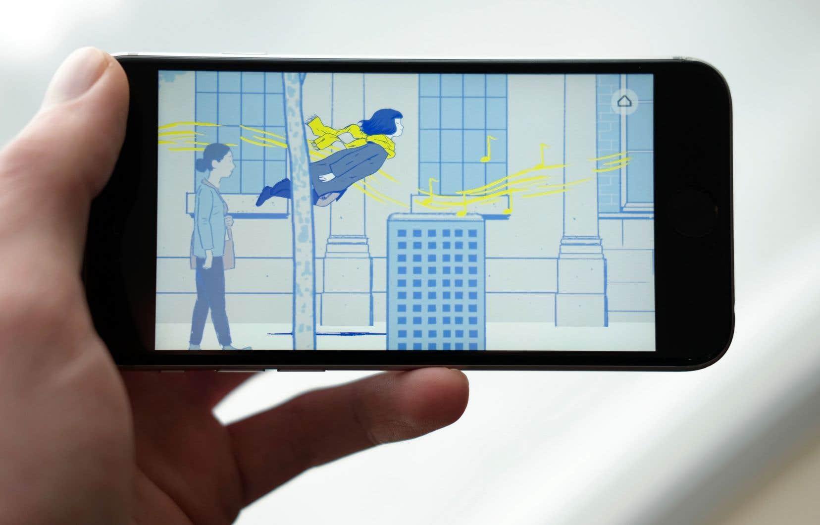 Cadeau des designers de «Monument Valley», «Florence» s'apparente plus à une bande dessinée interactive qu'à un jeu proprement dit.
