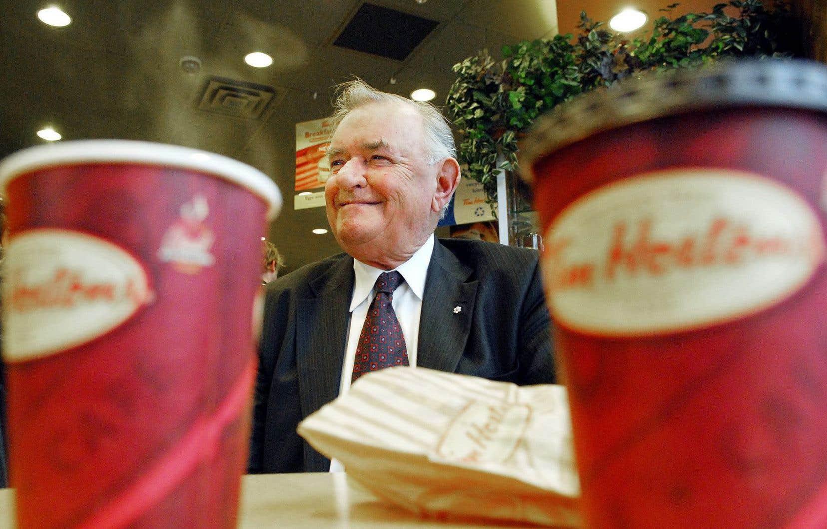 Ron Joyce, le cofondateur de la chaîne de café et de restauration rapide Tim Hortons