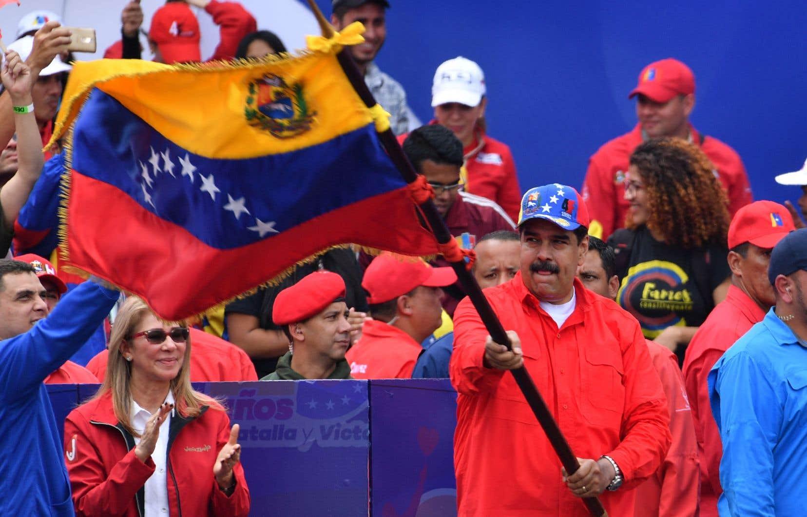 Le président vénézuélien, Nicolas Maduro