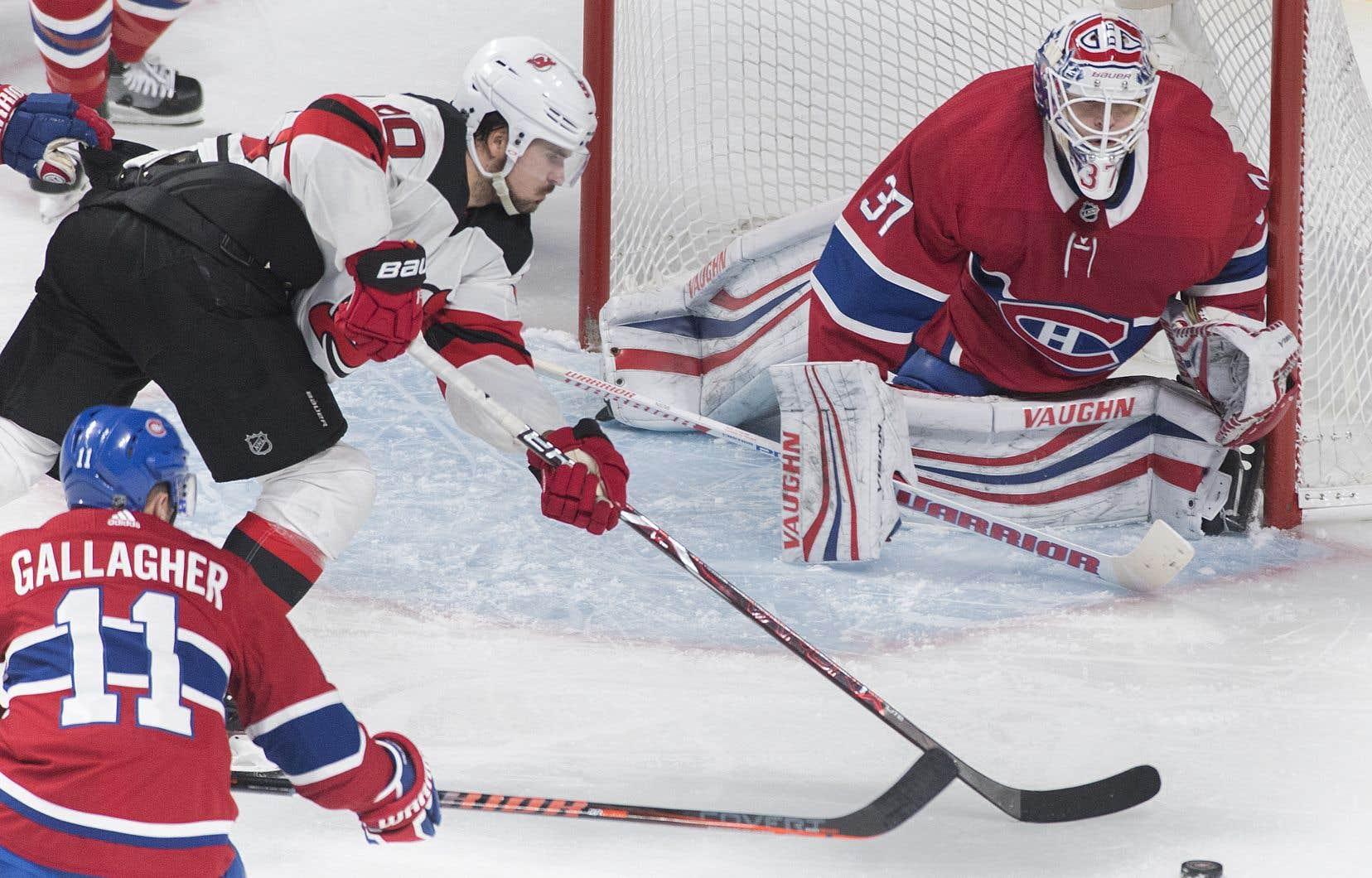 Le Canadien a encaissé une cinquième défaite cette saison quand elle mène après deux périodes.