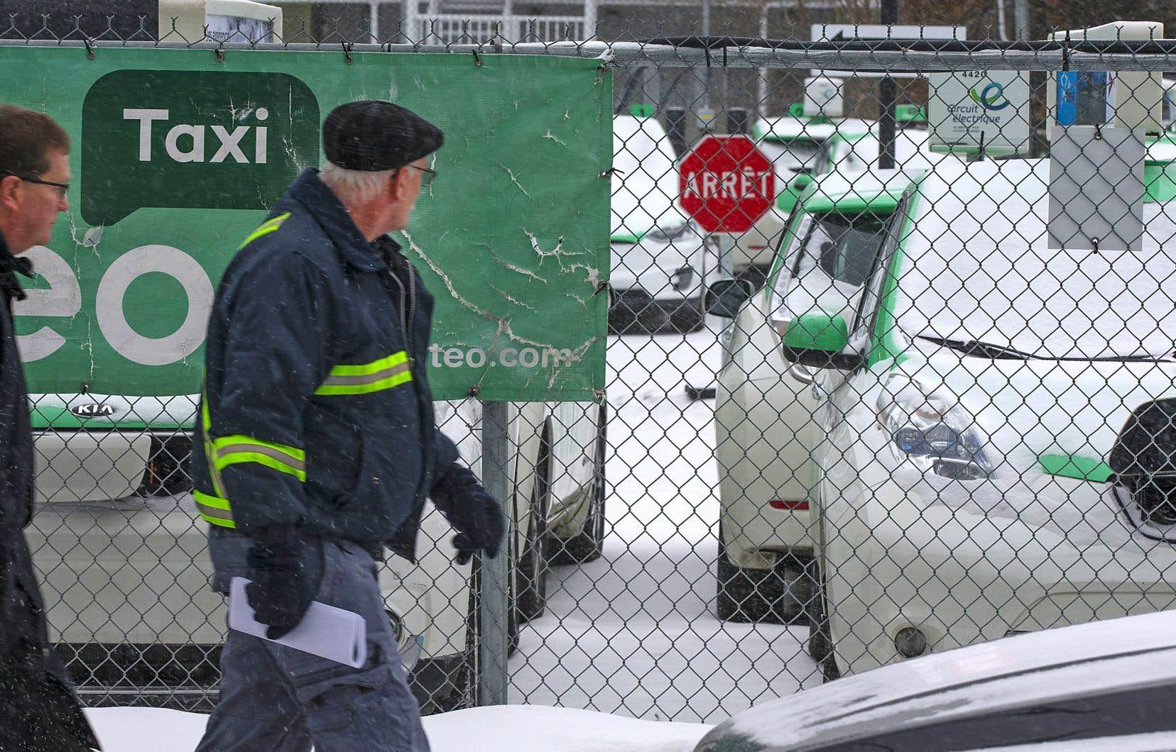 Quelque 400 chauffeurs de Téo Taxi ont été licenciés la semaine dernière.