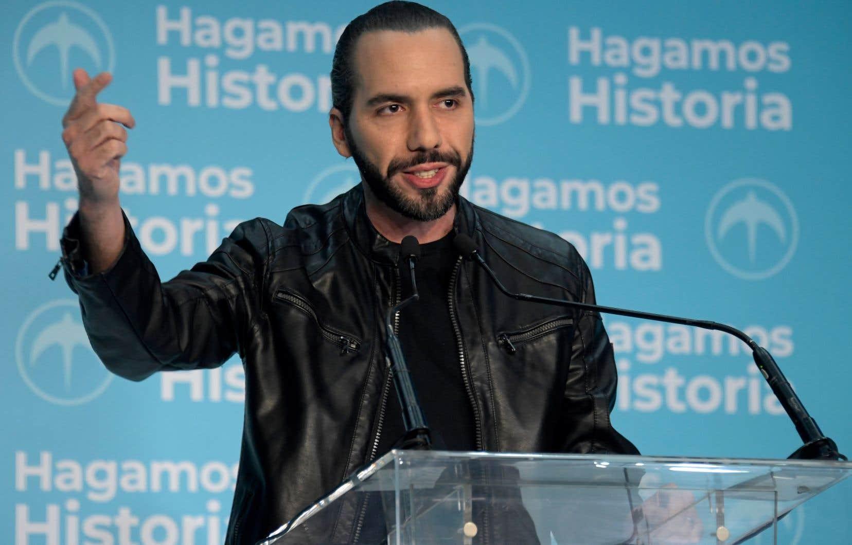 Le nouveau président du Salvador, Nayib Bukele, s'est donné pour mission de rompre avec la double malédiction de la violence des gangs criminels et de la misère.