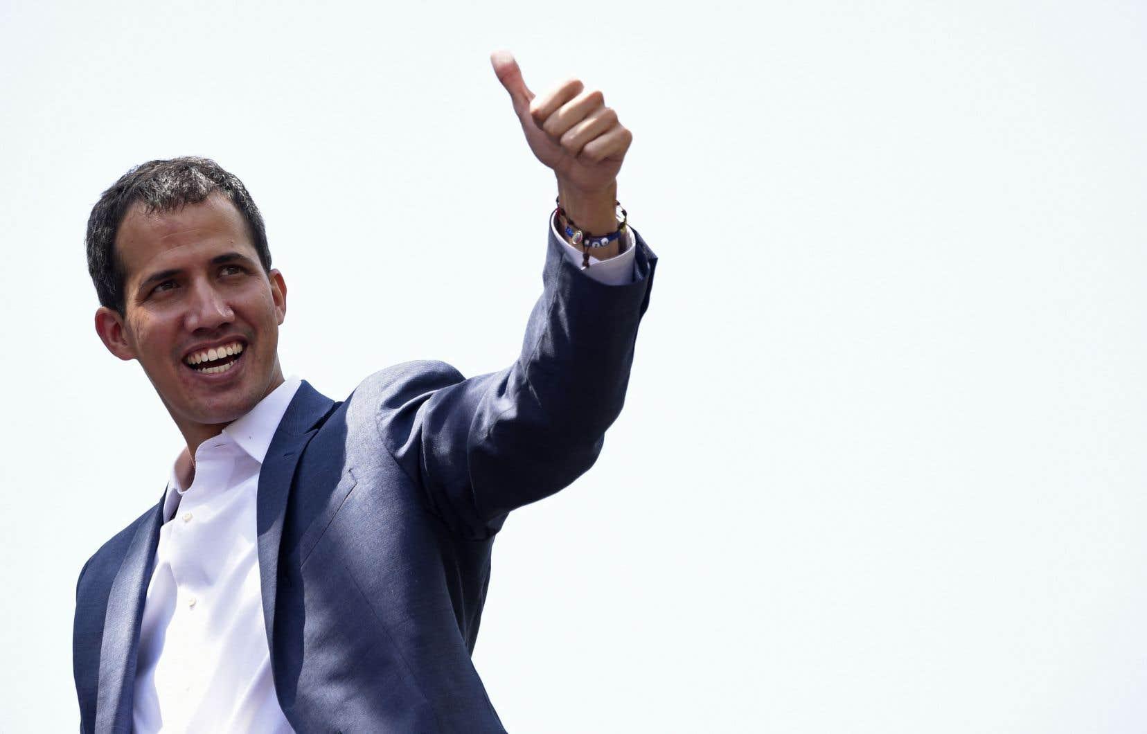 JuanGuaidó a prédit samedi un mois de février «déterminant» et a appelé ses partisans à une nouvelle manifestation le 12février.
