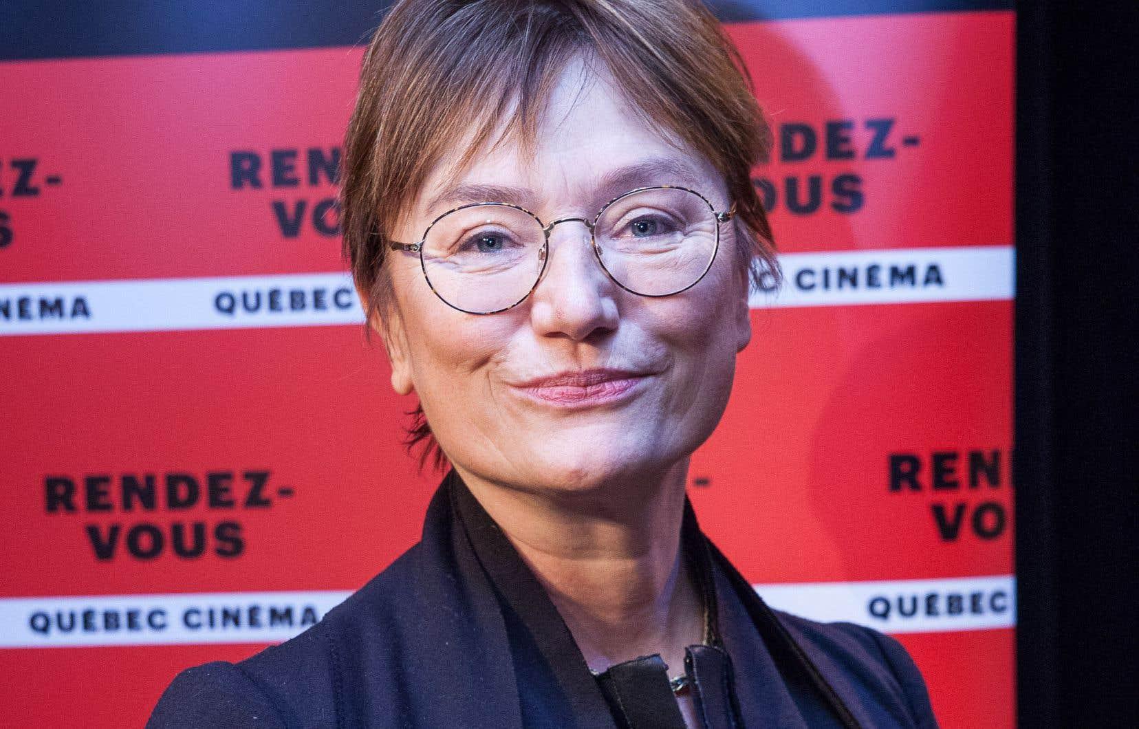 Ségolène Roederer,directrice par intérim des Rendez-vous Québec Cinéma