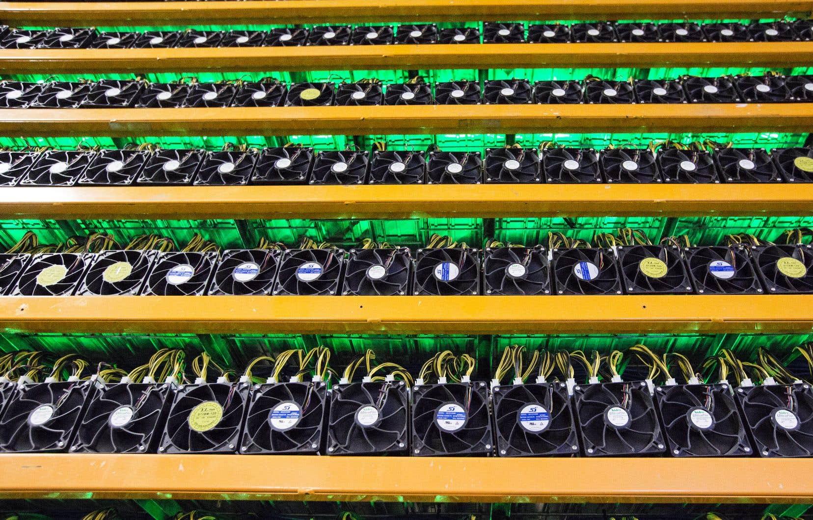La société Quadriga CXpermet d'échanger bitcoin, litecoin et etherum.