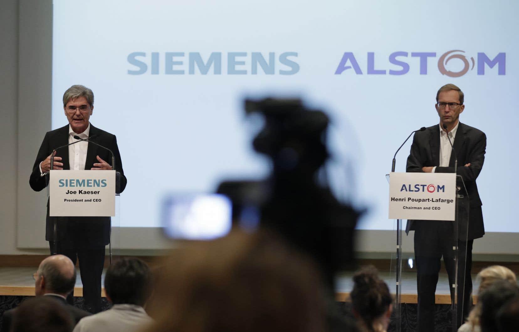 Alstom et Siemens Mobility repartiront «chacun de leur côté».