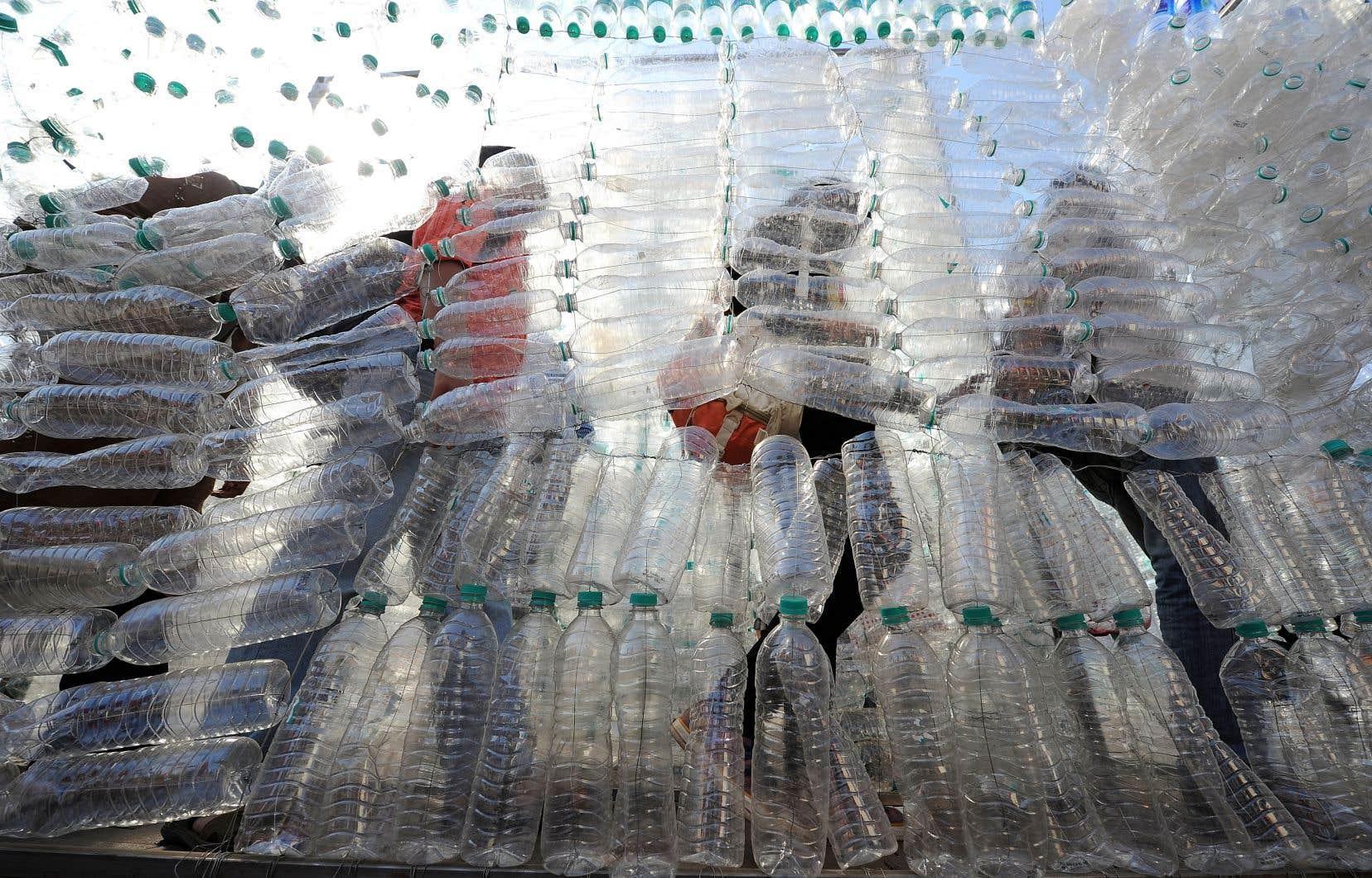 Au Sommet de Charlevoix, les pays du G7 se sont donné comme objectif la récupération de 100% des plastiques produits et 55% d'ici 2030.<br />
