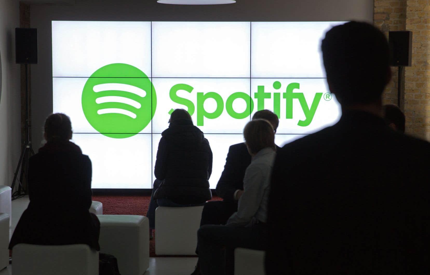Spotify a déjà produit des balados originaux, dont une série avec l'humoriste Amy Schumer et une autre avec le rappeur et diffuseur Joe Budden.