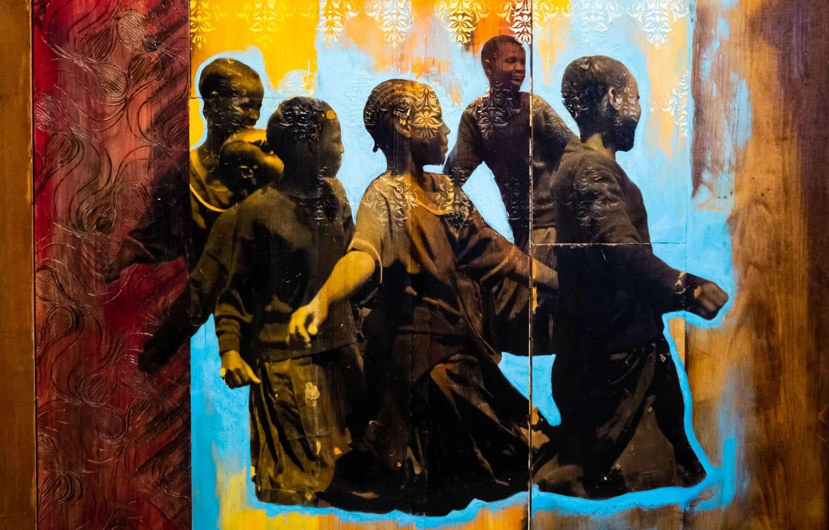 «Uringo Bayoyo», de la série «The Floating Homeland», une œuvre de Shanna Strauss