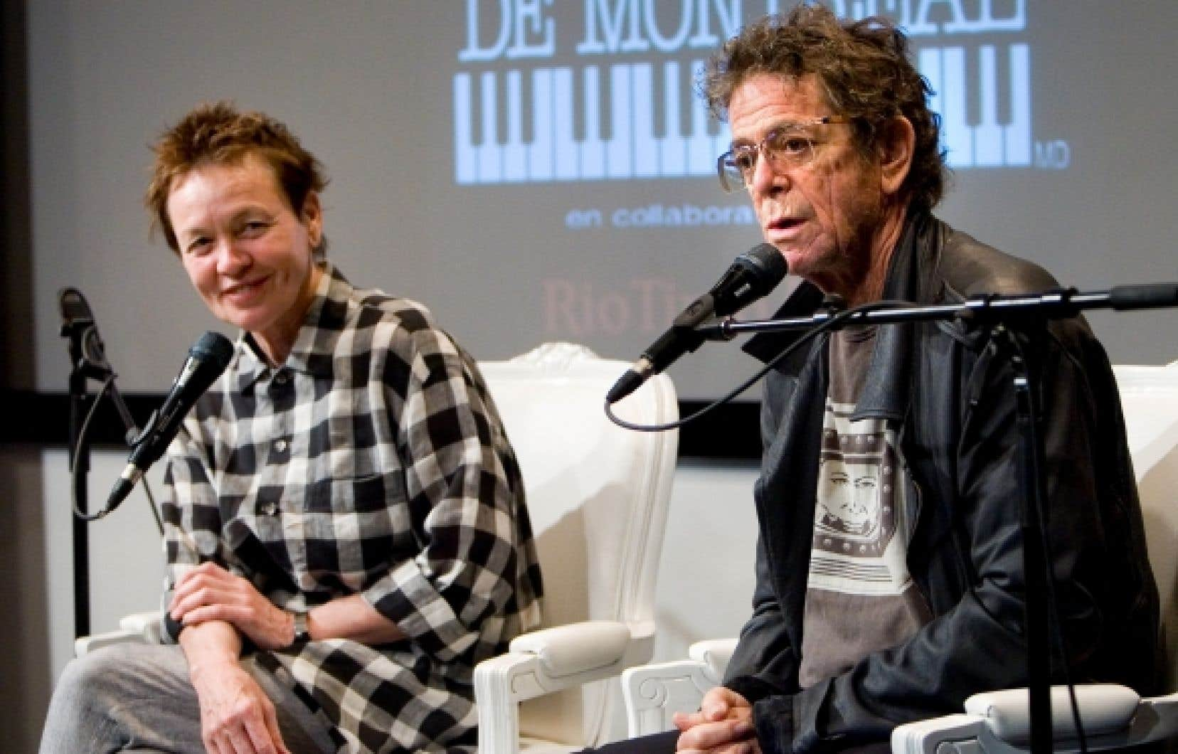Laurie Anderson et Lou Reed