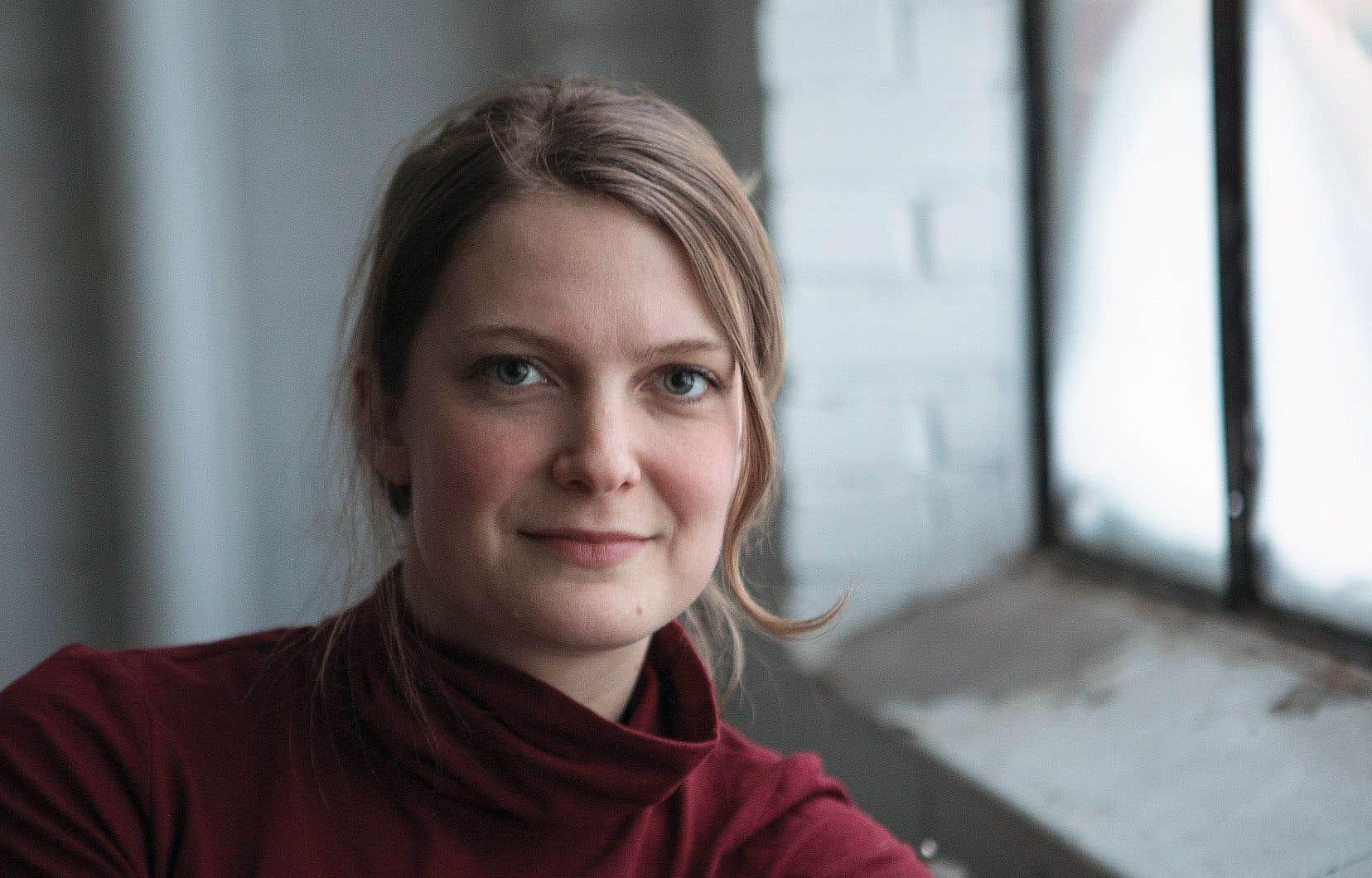 La réalisatrice Geneviève Dulude-De Celles