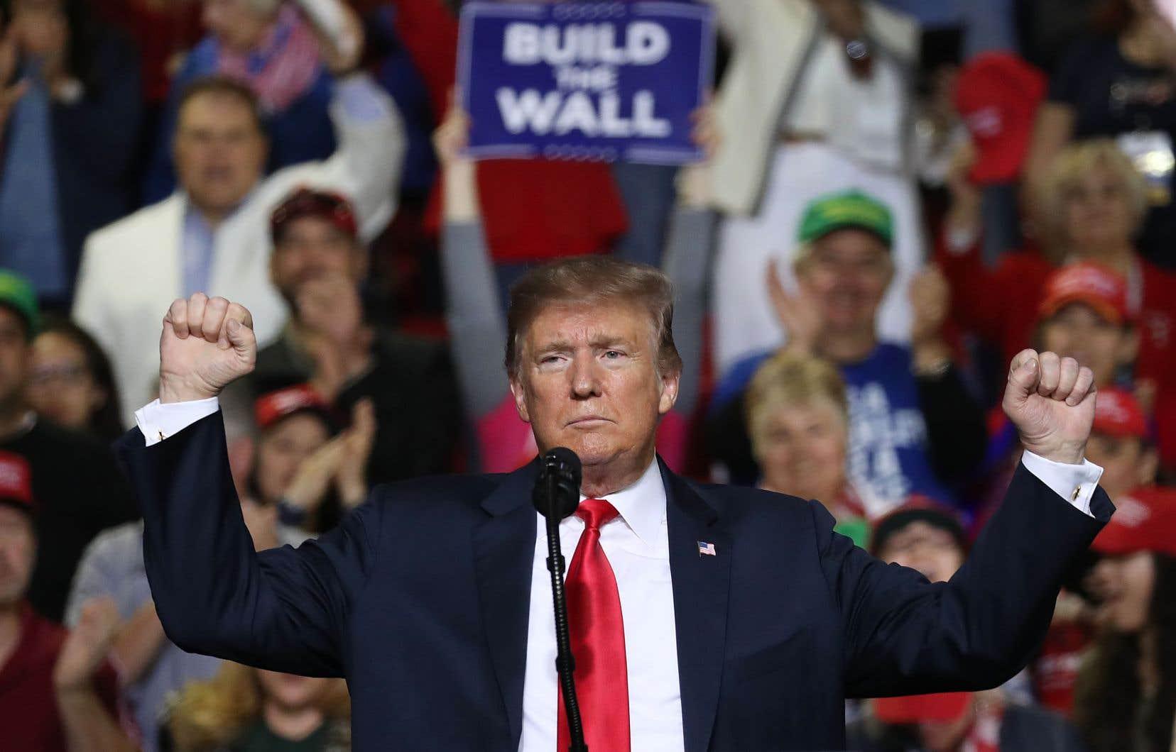 Le président américain Donald Trump n'en démord pas: «Nous terminerons le mur.»