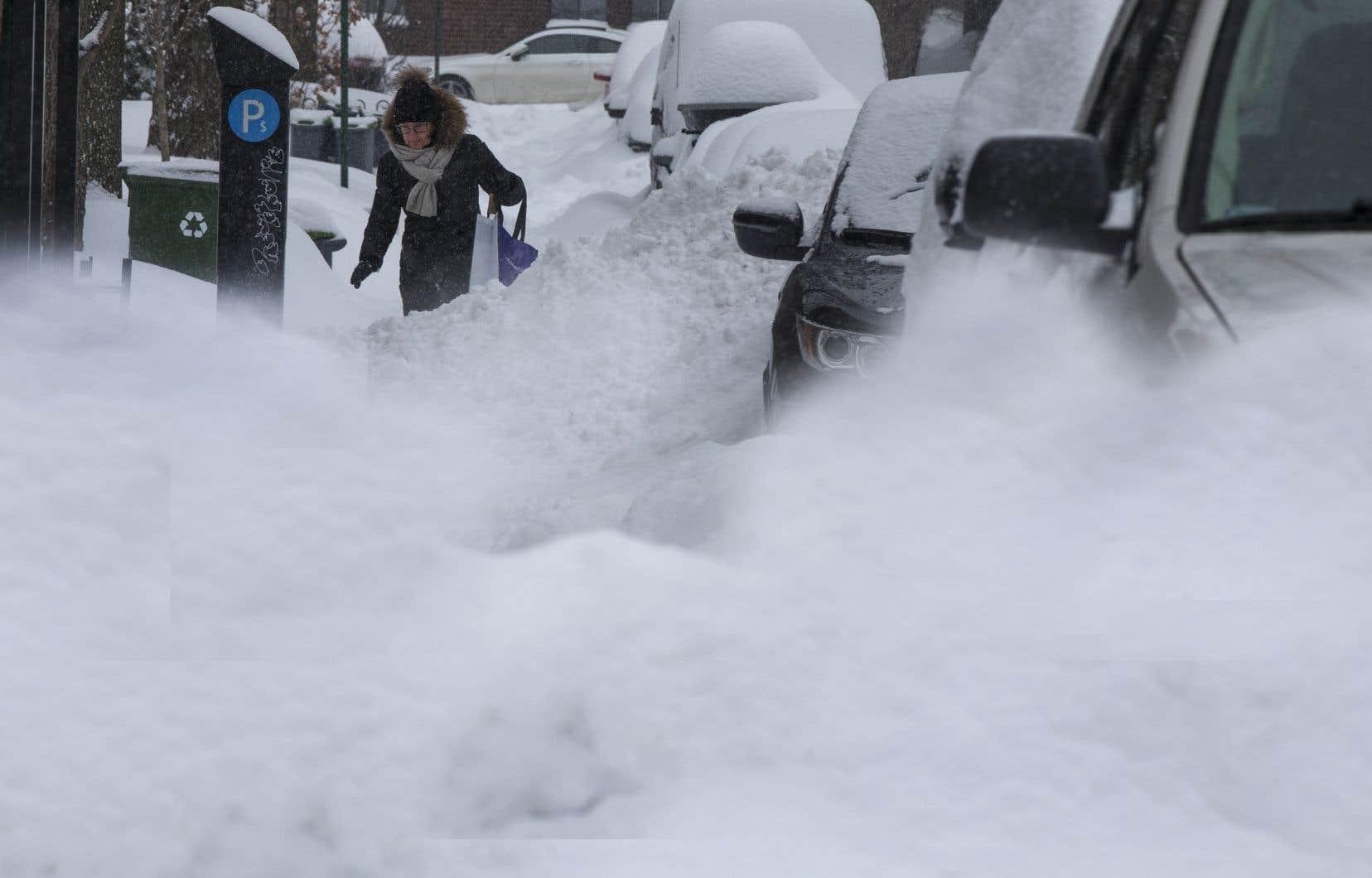 37 cm de neige sont déjà tombés sur la grande région de Montréal.