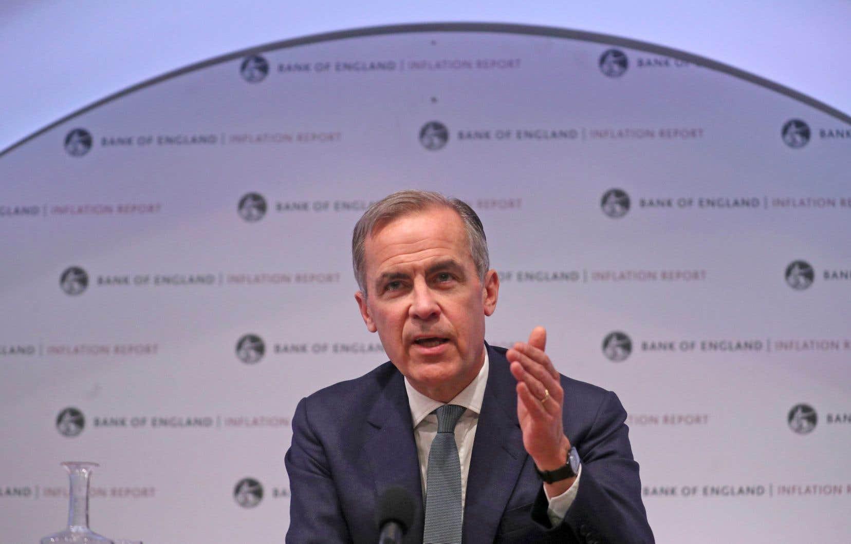 «Un Brexit sans accord négocié serait un choc pour l'économie», a rappelé mardi Mark Carney, le gouverneur de la Banque d'Angleterre.