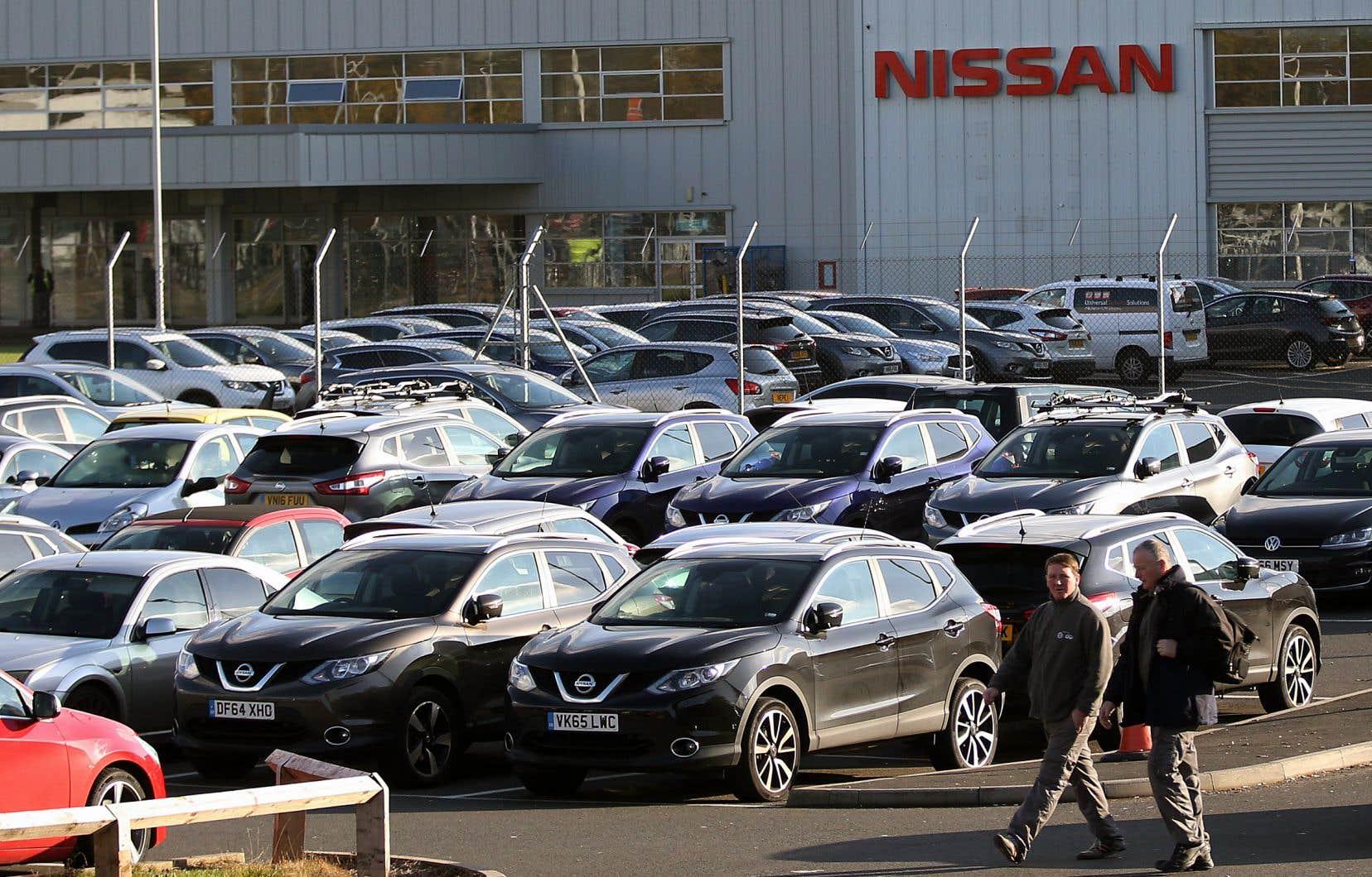 L'usine Nissan de Sunderland au Royaume-Uni. Début février, le constructeur a annoncé qu'il revenait sur sa décision d'assembler son crossover X-Trail pour le marché européen dans cette gigantesque usine.