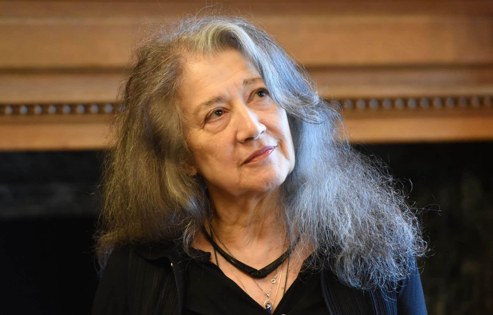 À 77ans, l'Argentine Martha Argerich garde le même charisme, la même fougue et cette capacité de nous surprendre à chaque recoin de phrase.