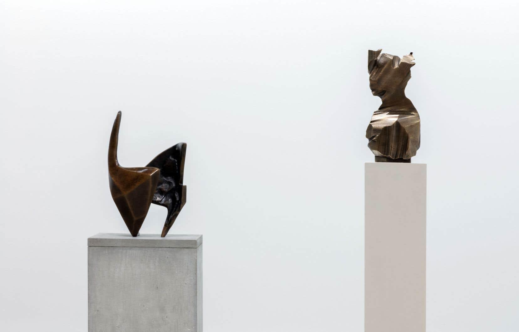 Vue de l'exposition La Durée d'An Te Liu chez Division
