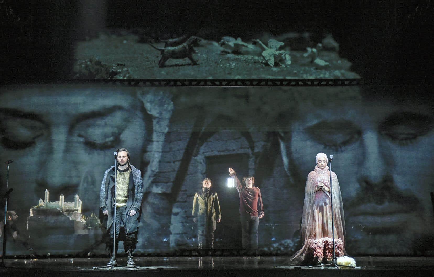 Une scène du «Pelléas et Mélisande» mis en scène par Christian Lapointe, un habitué du travail avec un «dramaturg».