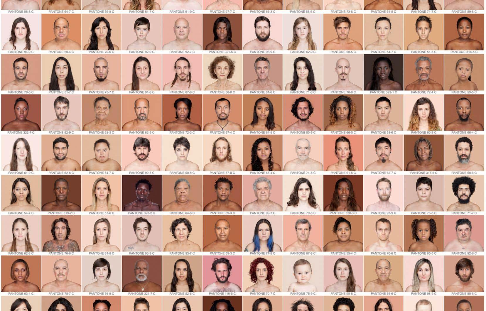 Ce qui fait la force du projet de collage, estime Angélica Dass, c'est l'absence d'informations sur les sujets. «On ne sait pas qui est le pauvre et qui est le riche. On ne sait pas qui est le migrant, qui est handicapé, quelle est l'orientation sexuelle de chacun.»
