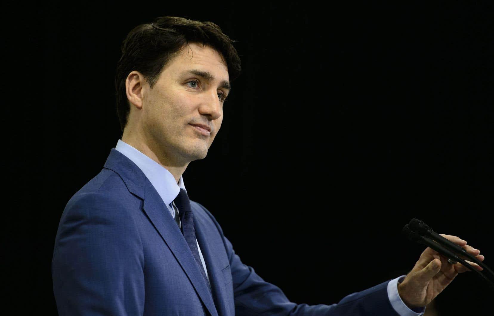Justin Trudeau a entre autres voulu préciser les raisons qui l'ont conduit à déplacer Jody Wilson-Raybould de la Justice aux Anciens Combattants en janvier.