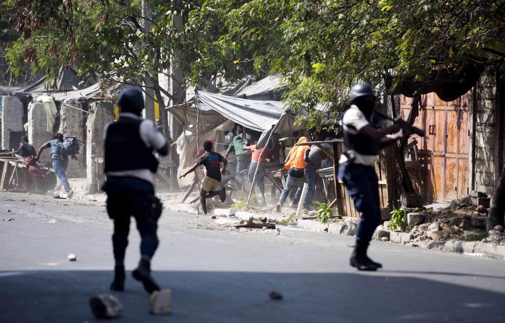 Haïti est depuis plusieurs joursen proie à des manifestations violentes.