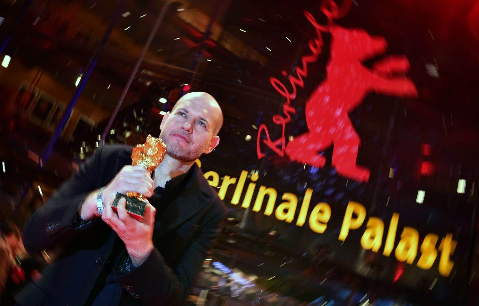 Le réalisateur israélien Nadav Lapid a remporté l'Ours d'or du meilleur film pour «Synonymes».