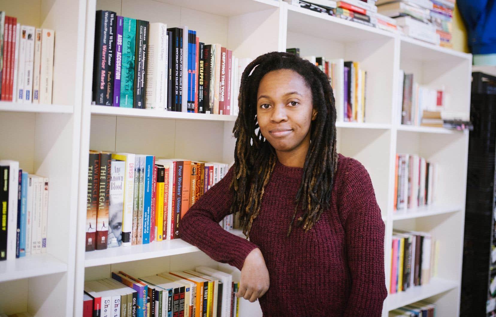 Au moment d'ouvrir sa librairie, Gabriella Garbeau a procédé par sociofinancement, mais aussi en invitant les gens à partager des livres écrits par des personnes racisées qui les avaient marqués.