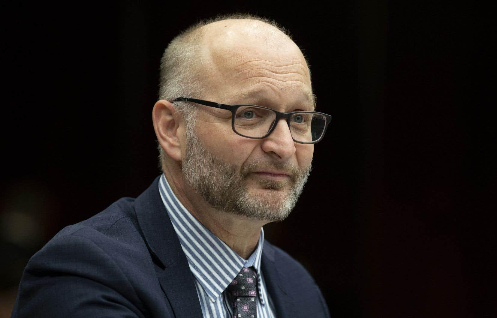 <p>L'un des premiers témoins à comparaître:le ministre de la Justice et procureur général, David Lametti.</p>