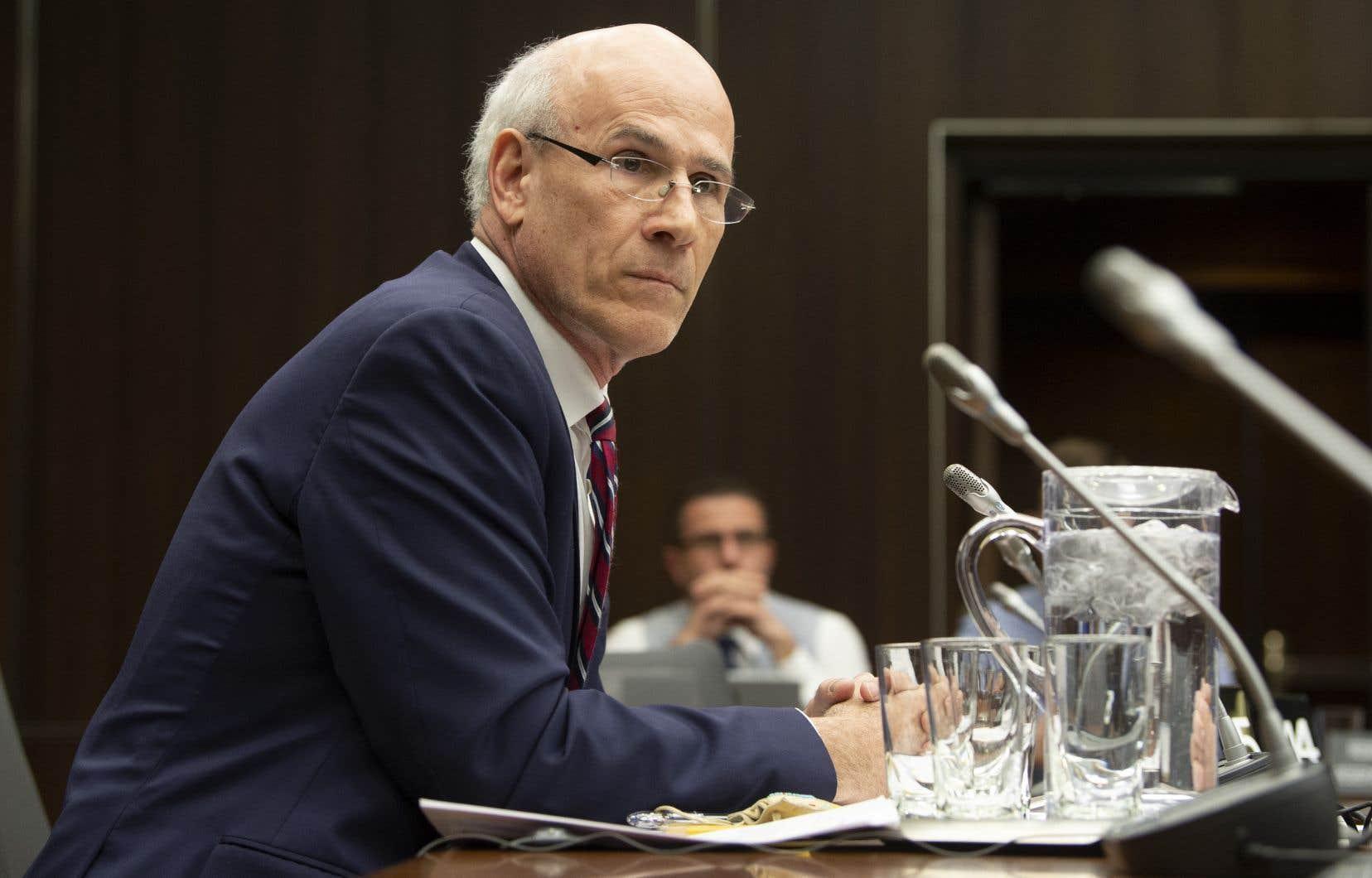 Michael Wernick, greffier du Conseil privé, a nié tout parti pris même s'il s'est employé durant son témoignage à défendre Justin Trudeau et son équipe.