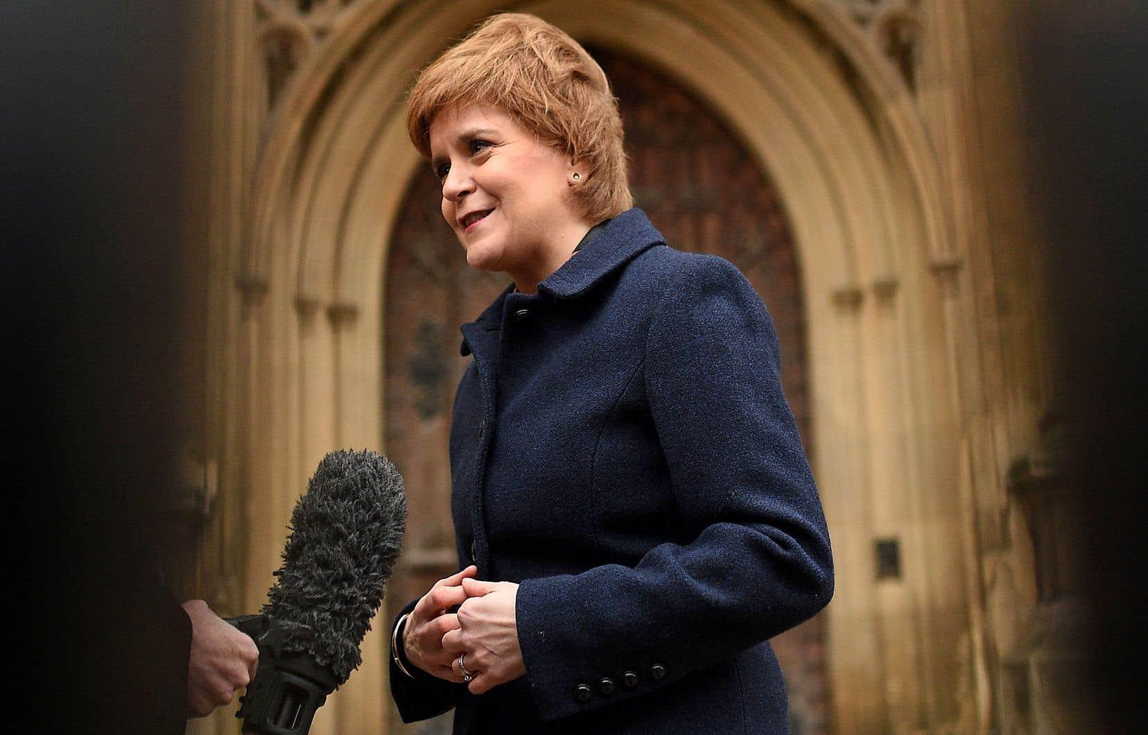 «Avec le Brexit, pour lequel nous n'avons pas voté, nous payons le prix de notre absence d'indépendance», croit Nicola Sturgeon.