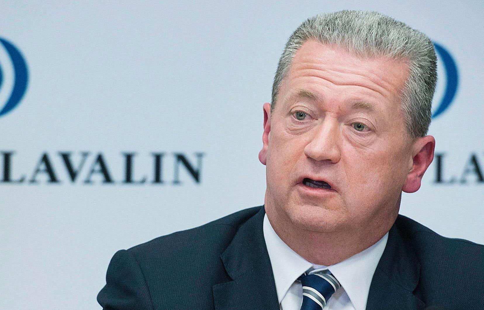 Le président et chef de la direction de SNC-Lavalin, Neil Bruce