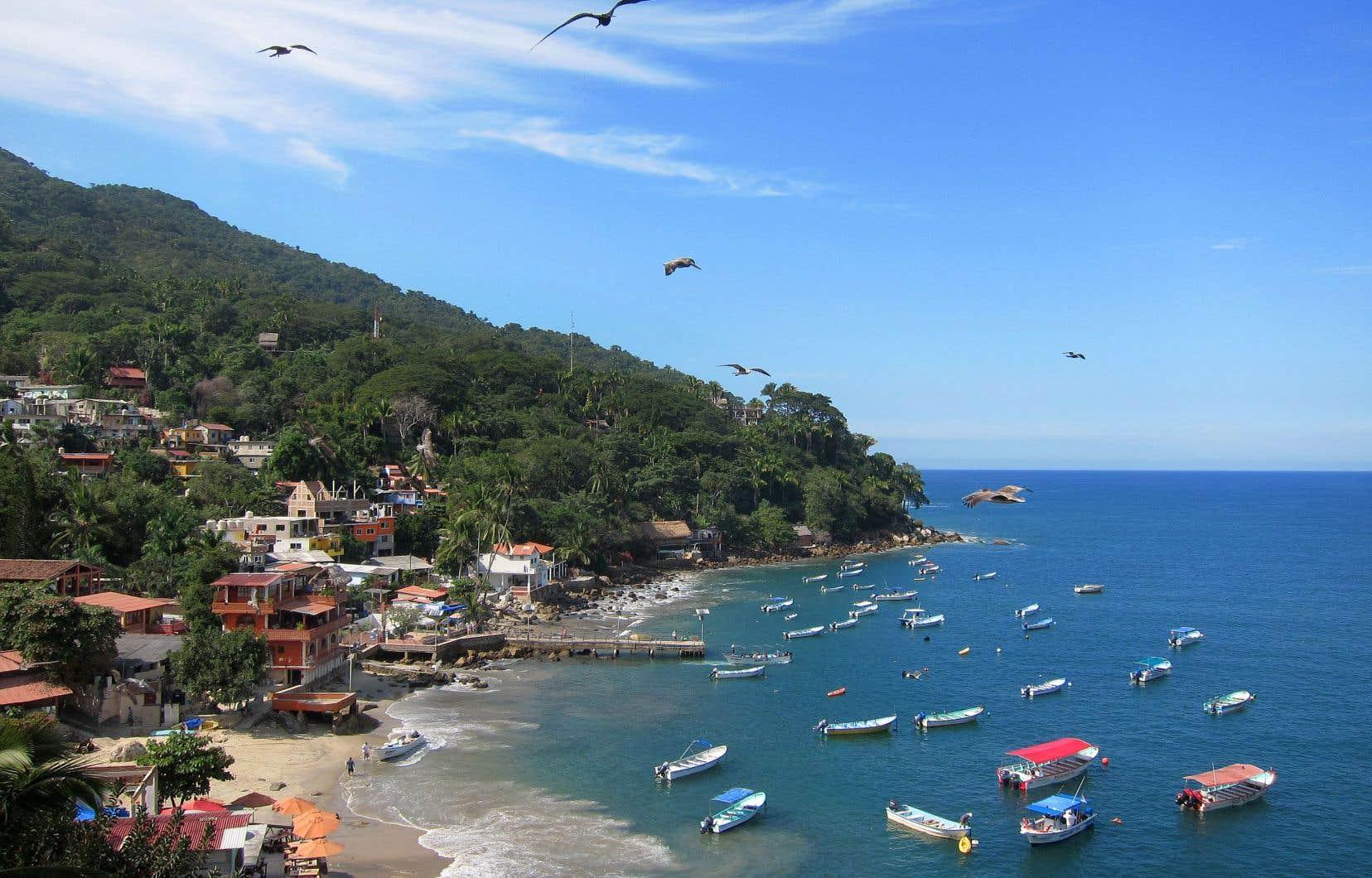 La baie de Yelapa côté village
