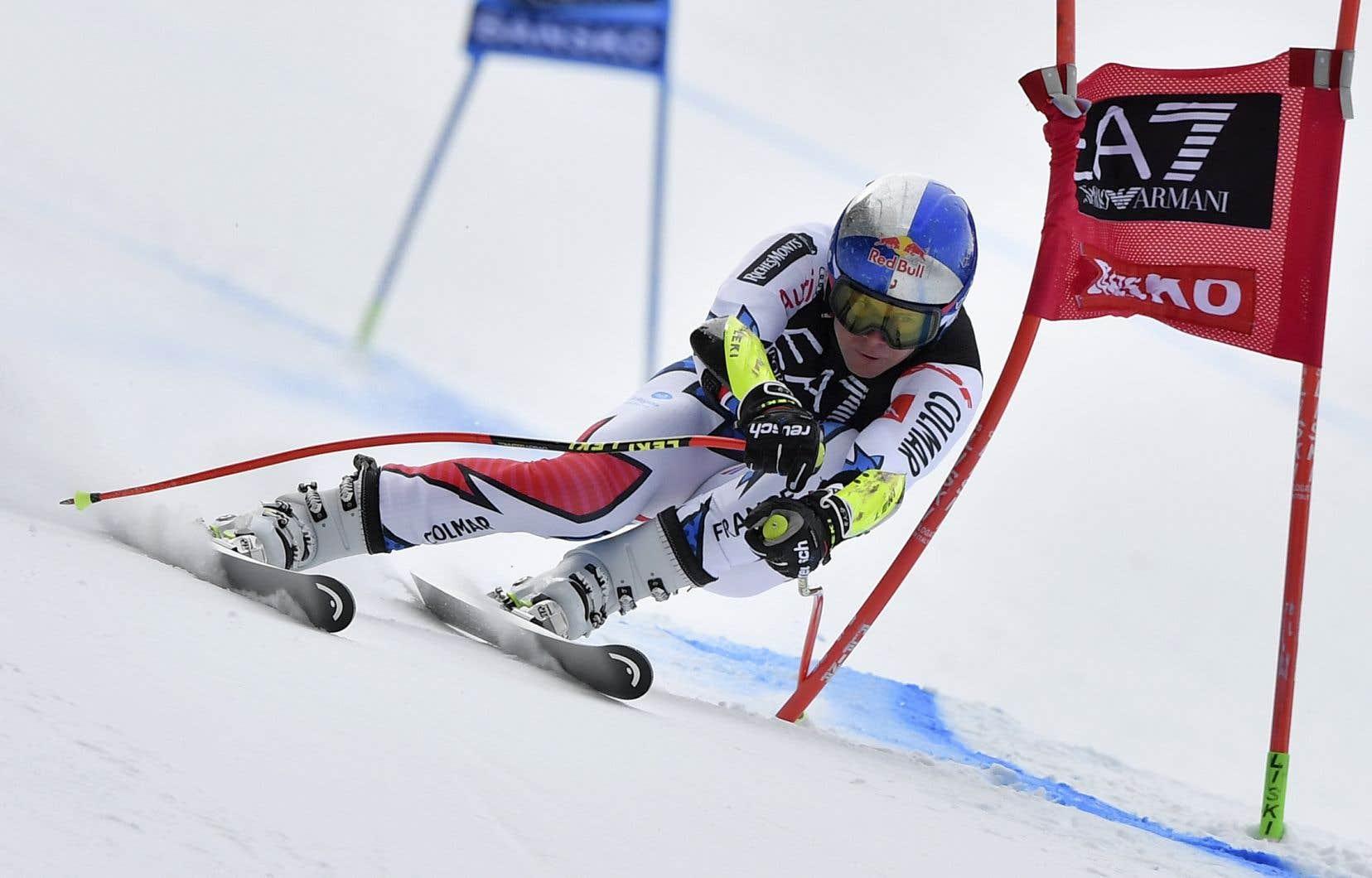 Le skieur françaisAlexis Pinturault