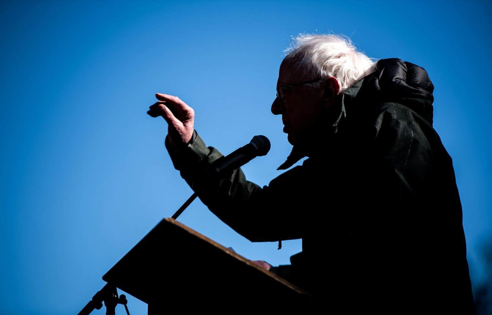 Dans les 24heures qui ont suivi l'annonce officielle de son entrée dans la course à l'investiture, Bernie Sanders a amassé en dons pour sa campagne pas moins de 5,9millions de dollars.