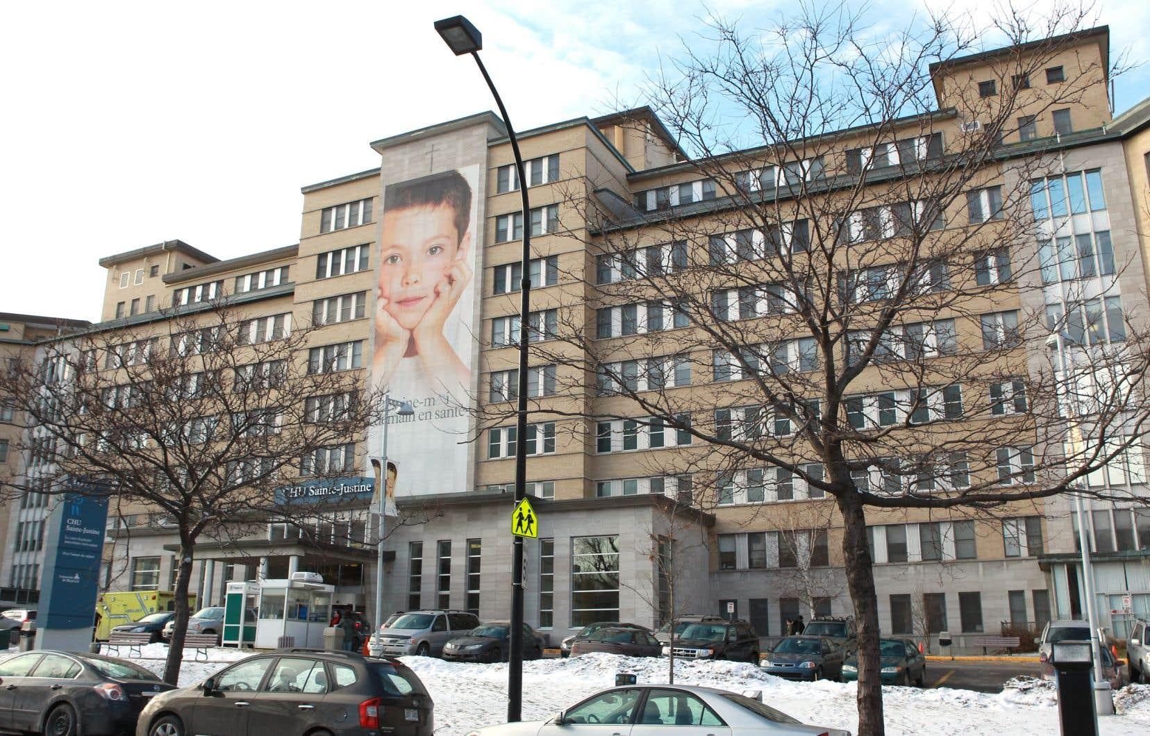 Le Centre hospitalier universitaire Sainte-Justine