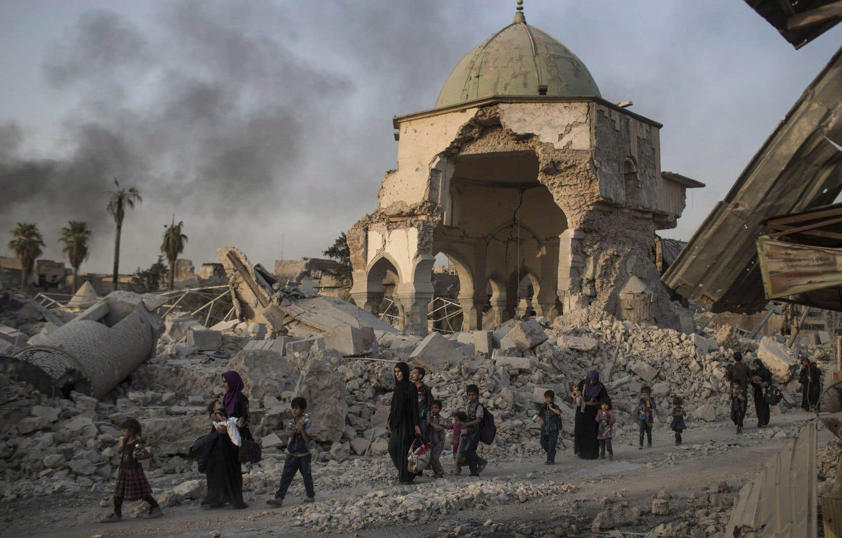 Visiting UNESCO, Iraqi President pleads for reconstruction of Mosul Image